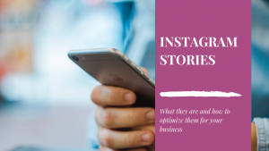 Using Instagram stories