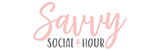 savy social hour logo